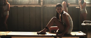 Jamie Chung as Eden in Megan Griffiths's EDEN. Courtesy of Phase 4 Films and Centripetal Films.